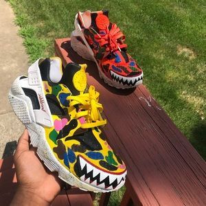 Custom Nike Air Force one,bape shark,custom sneakers